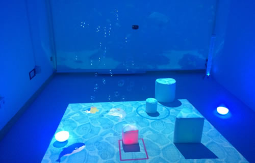 LudoMi, the Polisocial project for a smart, multi-sensory play room